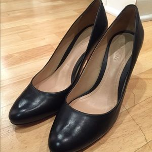 Round-toe pump. Perfect for the office!